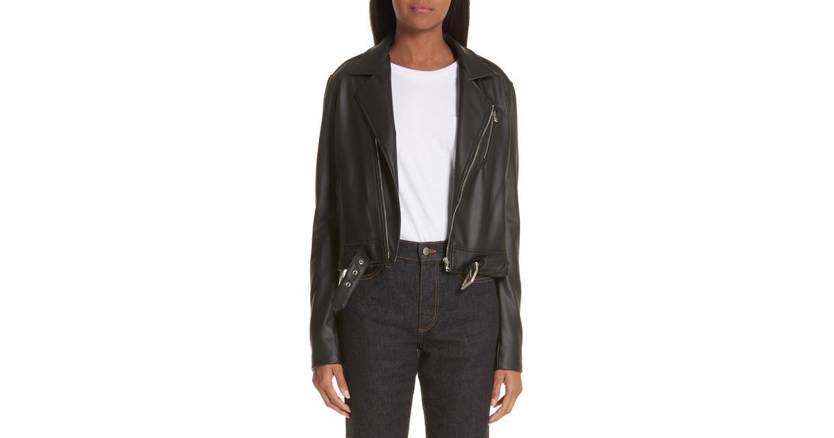 8ce0c8c00 Simon Miller - Black X Paramount Grease Faux Leather Biker Jacket - Lyst