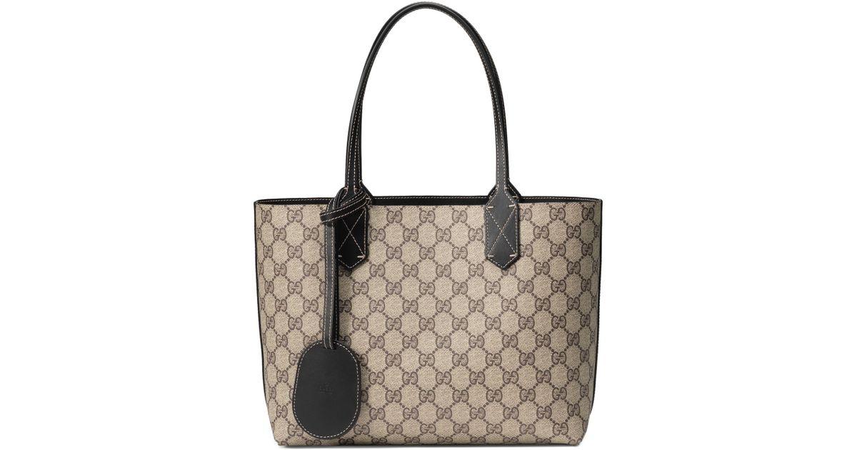 309ae018679 Lyst - Gucci Turnaround Small Reversible Leather Tote - None