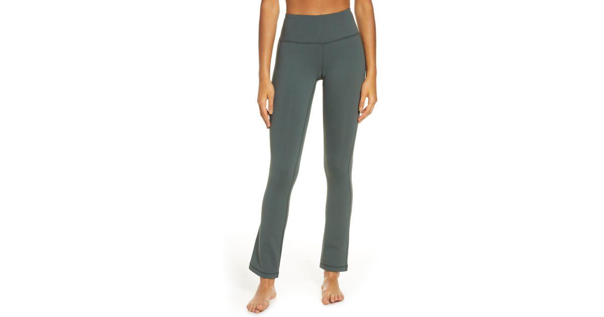 c807805a70 Lyst - Zella 'plank' Straight Leg Yoga Pants in Green