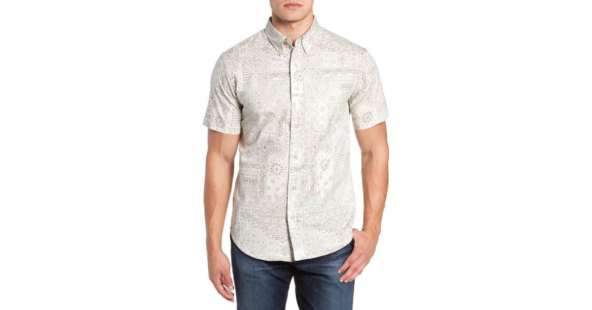 4ff45b5a972 Lyst - Reyn Spooner Aloha Bandana Regular Fit Sport Shirt for Men