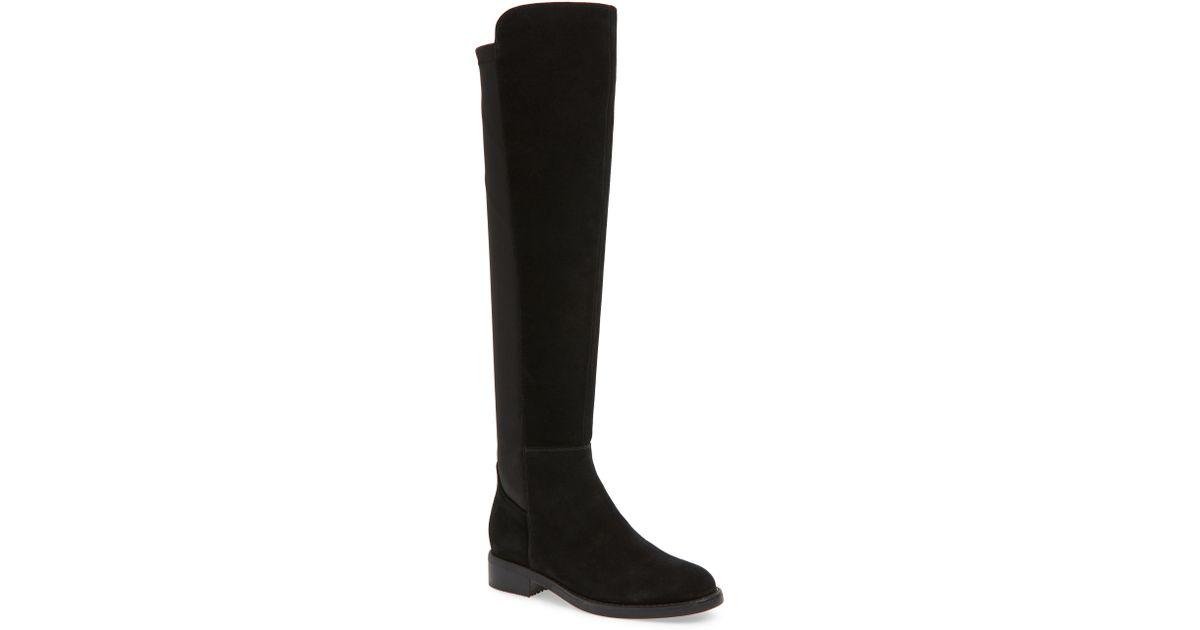 da4a8eca10b Lyst - Blondo Danny Over The Knee Waterproof Boot in Black