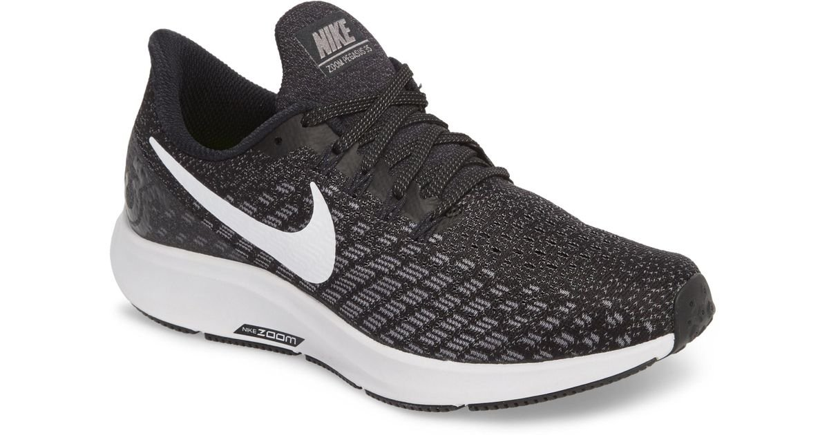 17c7ea4fd0cd5 Lyst - Nike Air Zoom Pegasus 35 Running Shoe in Black