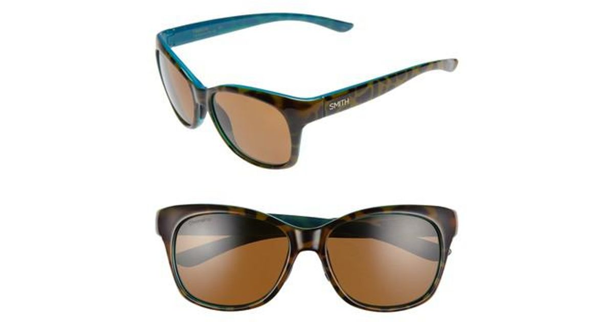 c57553ec27 Lyst - Smith Feature Chromapop 54mm Polarized Sunglasses -