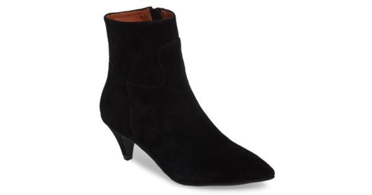 0775cd95ea Jeffrey Campbell Muse Bootie in Black - Lyst