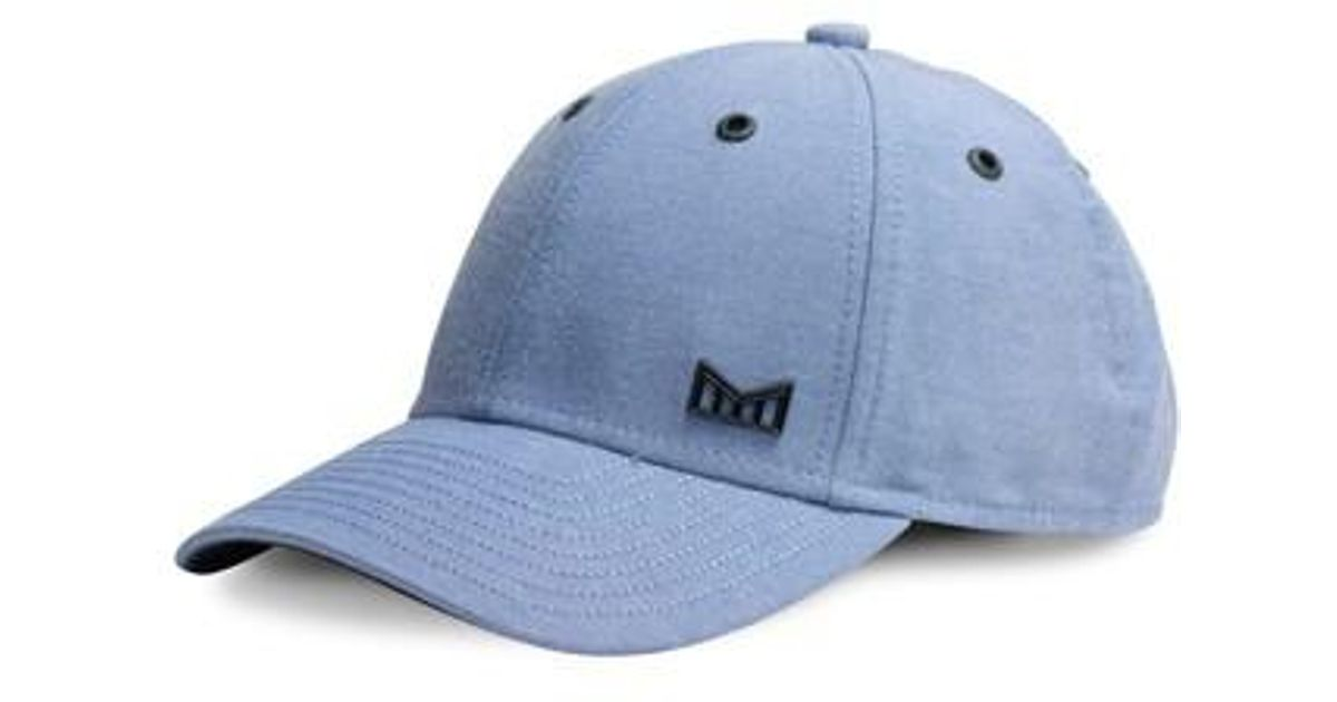 competitive price a6250 caf2a ... wholesale lyst melin scholar snapback baseball cap in blue for men  ef835 c0346