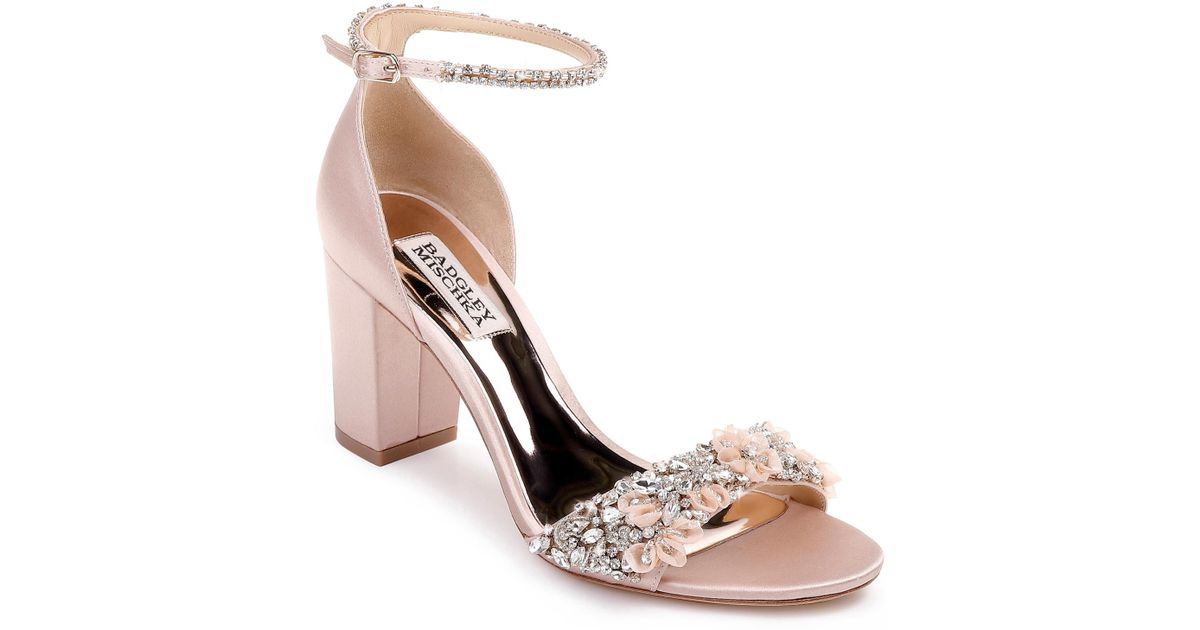 6ccaf1649c1 Lyst - Badgley Mischka Badgley Mischka Finesse Ankle Strap Sandal