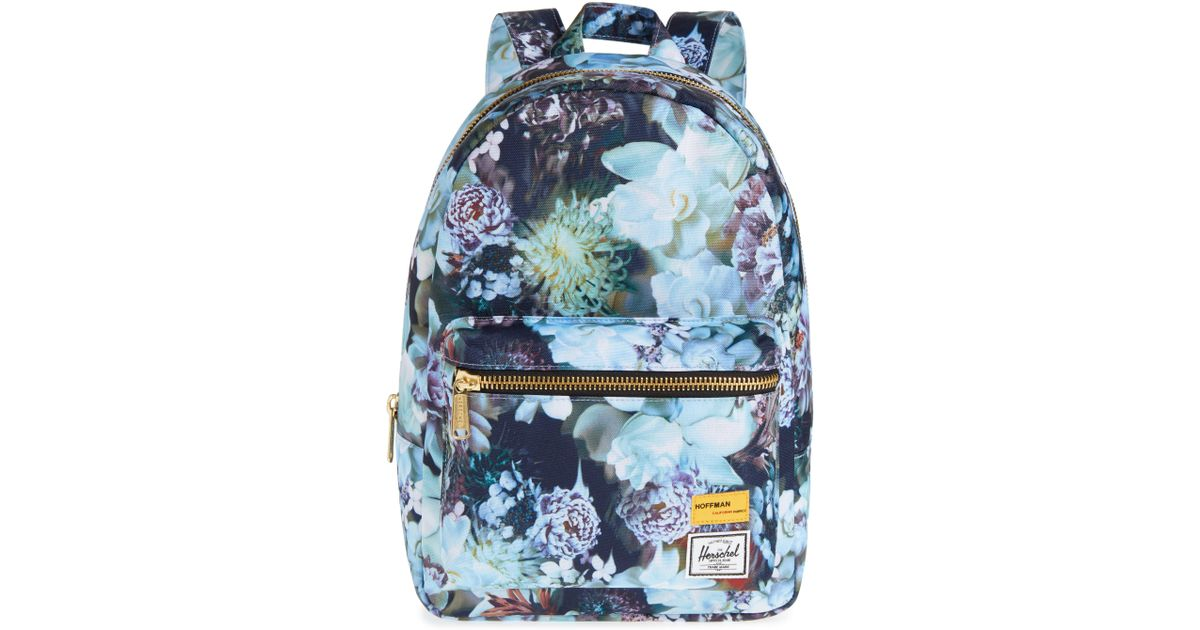 75f2c18317f Lyst - Herschel Supply Co. X Hoffman Extra Small Grove Backpack in Blue