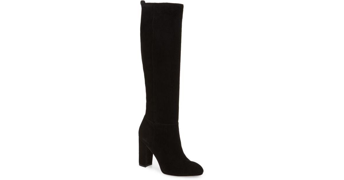 9e5b6272636 Lyst - Sam Edelman Caprice Knee-high Boot in Black