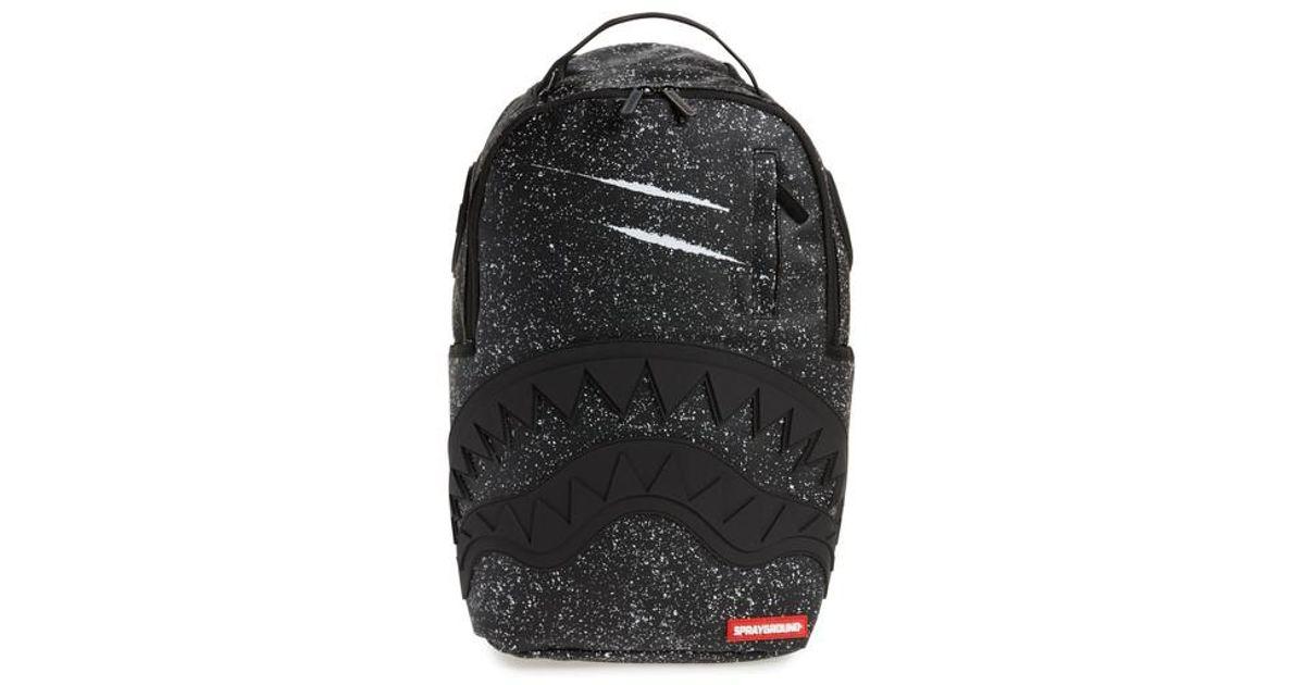 77ed8811b56b Sprayground Party Shark Backpack in Black for Men - Lyst