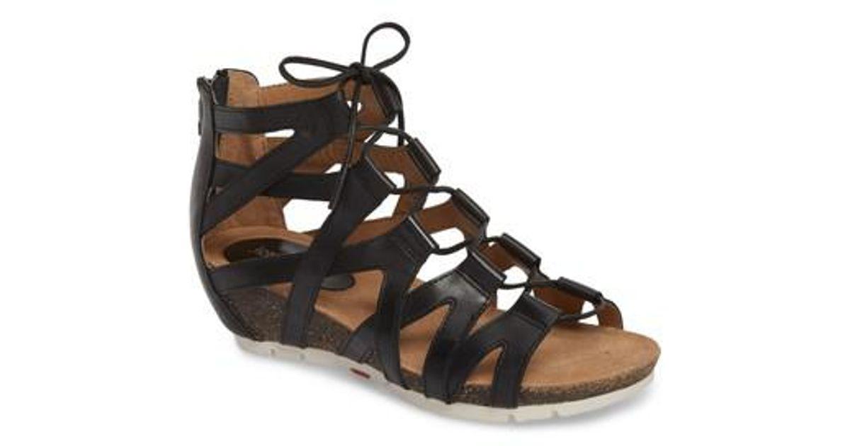 Josef Seibel Hailey 35 Caged Gladiator Sandals QbLqt