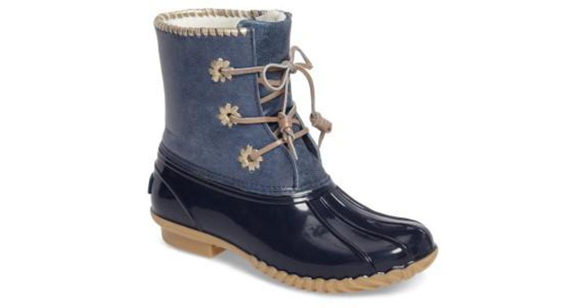 f714d6615e6 Lyst - Jack Rogers  chloe  Rain Boot in Metallic