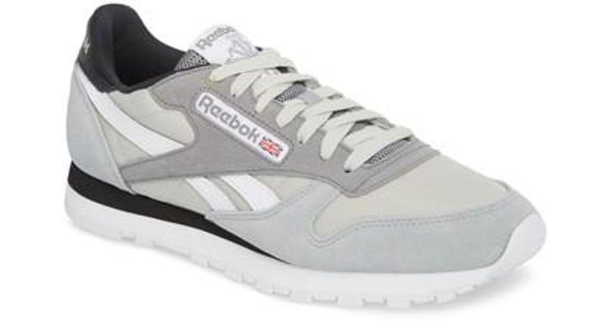 21526fda0e2 Lyst - Reebok Classic Leather Mccs Sneaker for Men