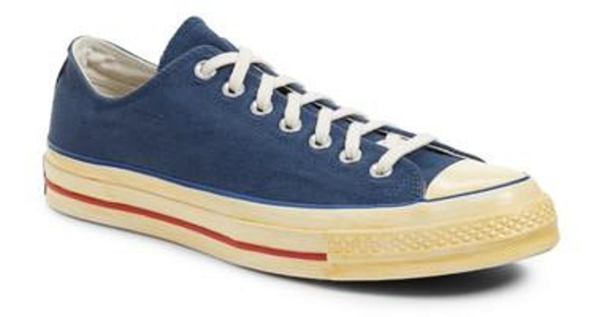 19180329f654 Lyst - Converse Chuck Taylor All Star 70 Low Top Sneaker in Blue for Men