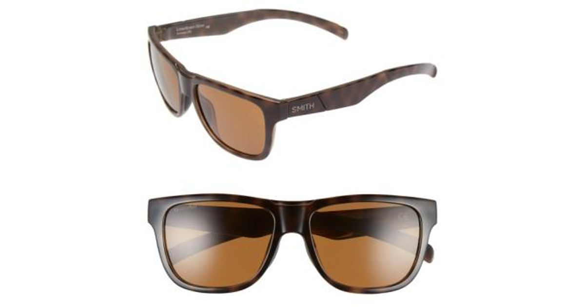 c19e9061898a Lyst - Smith  lowdown Slim  53mm Sunglasses in Brown