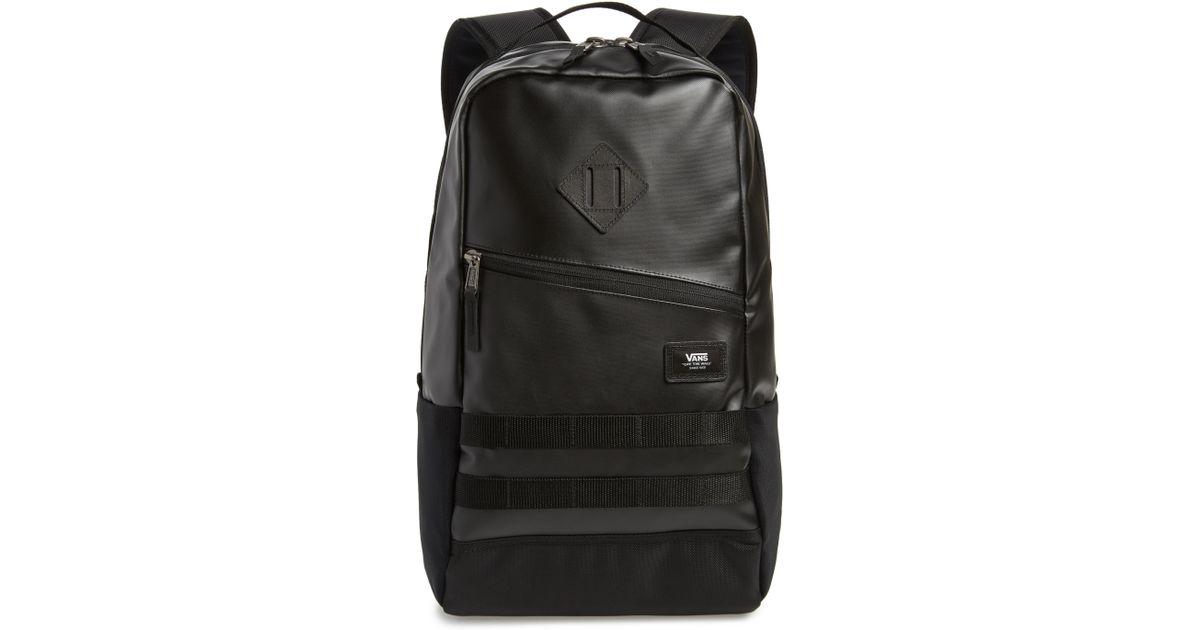 0ff064423a Lyst - Vans Divulge Water Repellent Backpack in Black for Men