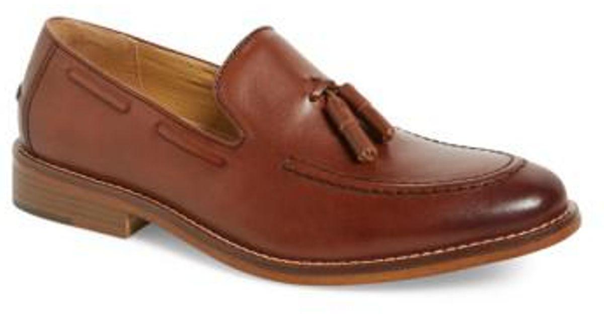 426cf2d7ada Lyst - G.H.BASS  cooper  Tassel Loafer in Brown for Men