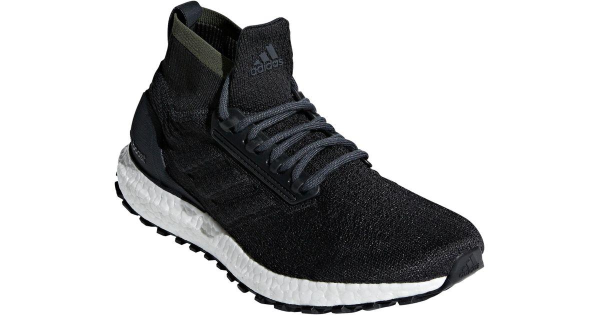 d2ff23fec5146 Lyst - adidas Ultraboost All Terrain Water Resistant Running Shoe in Black  for Men