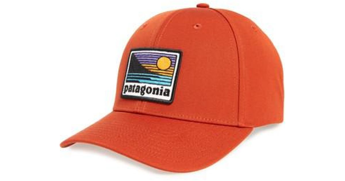 ec7a96761c Patagonia Up   Out Roger That Trucker Cap in Red for Men - Lyst