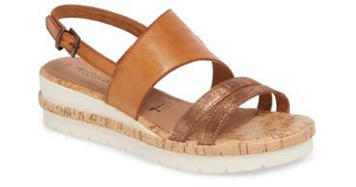 795e4061d72 Lyst - Tamaris Eda Wedge Sandal in Brown - Save 23%