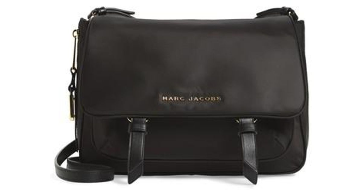 74ab8046c4b9 Lyst - Marc Jacobs Zip That Small Messenger Bag in Black for Men