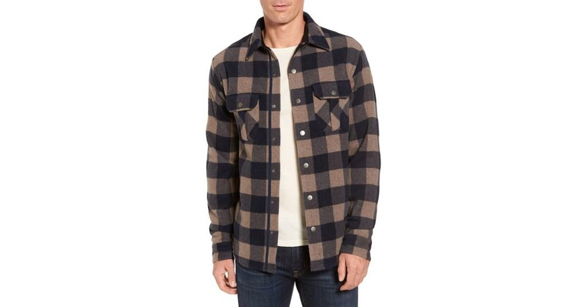 3aefd22ff86 Lyst - Smartwool Anchor Line Flannel Shirt in Blue for Men