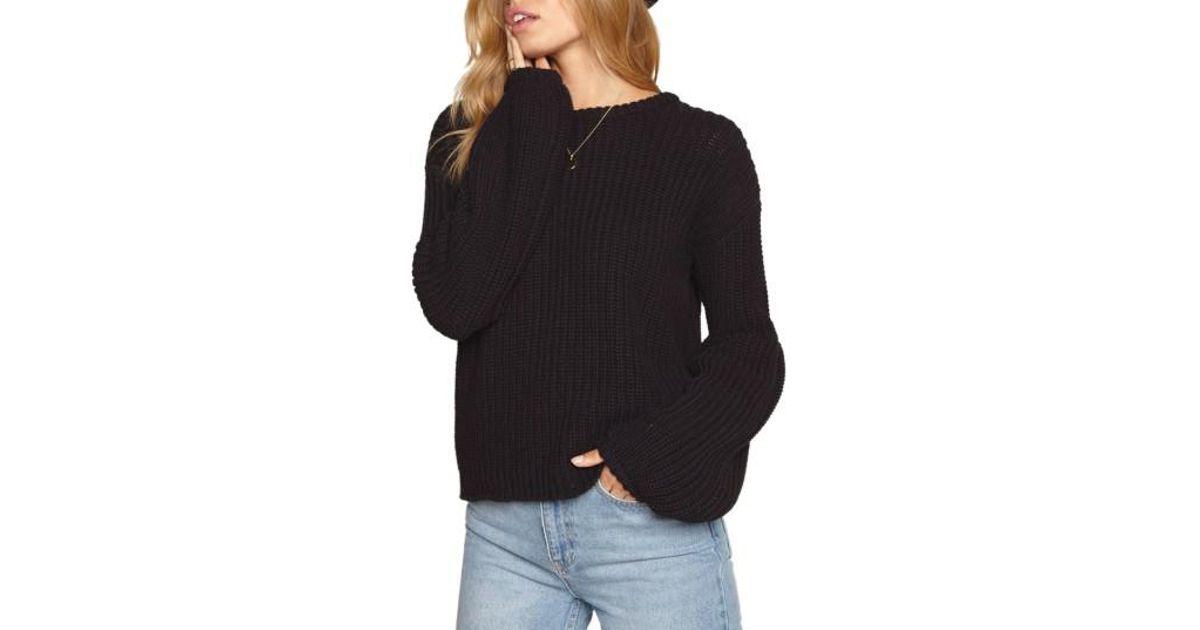 044a4959de Lyst - Amuse Society Braxton Sweater in Black