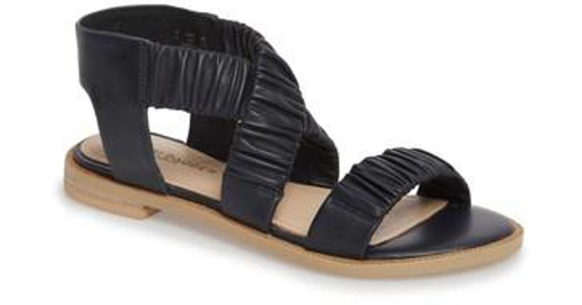 Kelsi Dagger Women's Ryder Pleated Flat Sandal 6U0YVyHvH