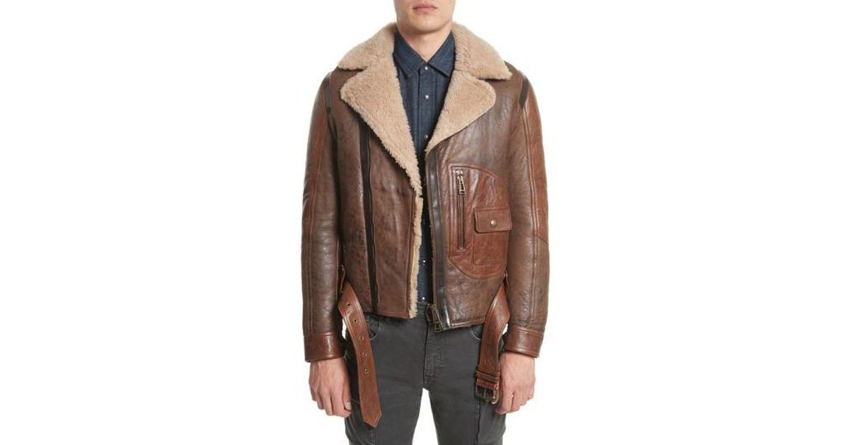911cdacc2ea Lyst - Belstaff Danescroft Shealing Leather Jacket in Brown for Men