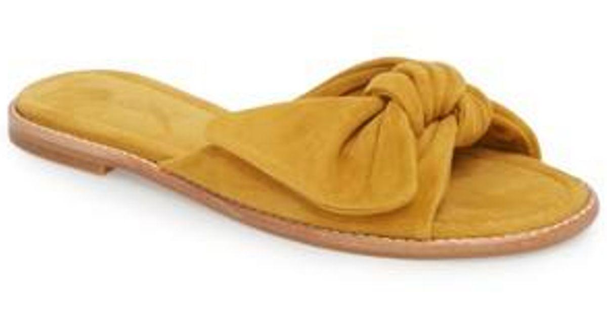 3f2d5b66bd2c6 Lyst - Madewell Naida Slide Sandal (women)