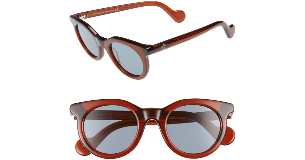 079c56ee5f0 Lyst - Moncler 47mm Sunglasses -