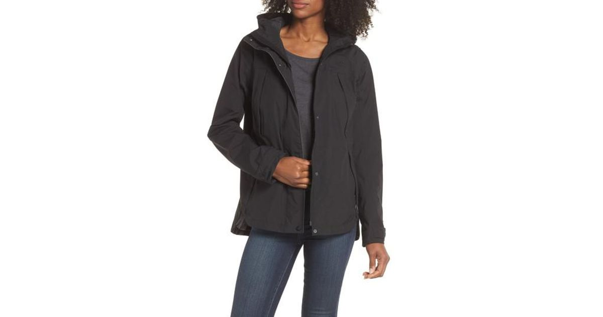 4fc83e987ad4 Lyst - The North Face Ditmas Rain Jacket in Black
