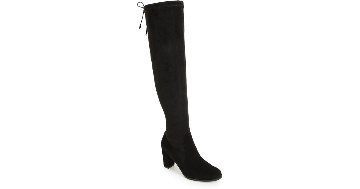 91bcbc1d29e Lyst - Blondo Kali Waterproof Over The Knee Boot in Black