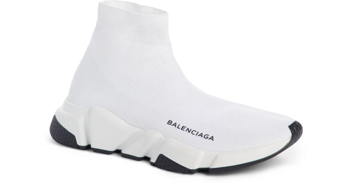e698e8739166 Lyst - Balenciaga Speed Hi-top Sneakers in Black - Save 25%