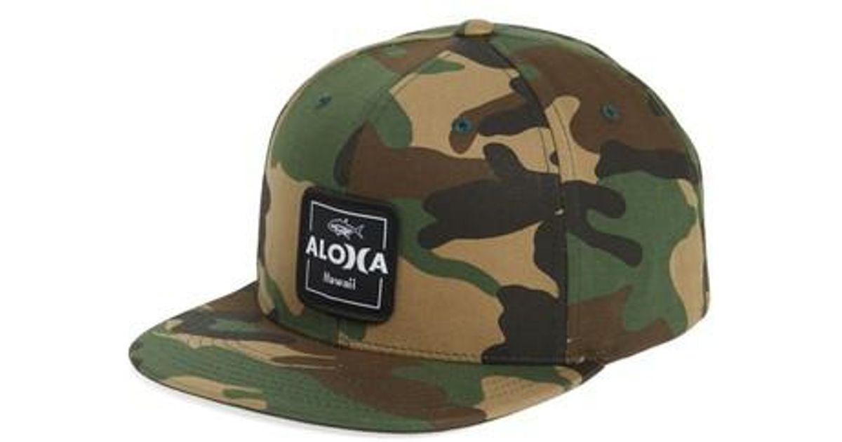 Lyst - Hurley Aloha Cruiser 2 Cap in Green for Men be2d16b04ed2