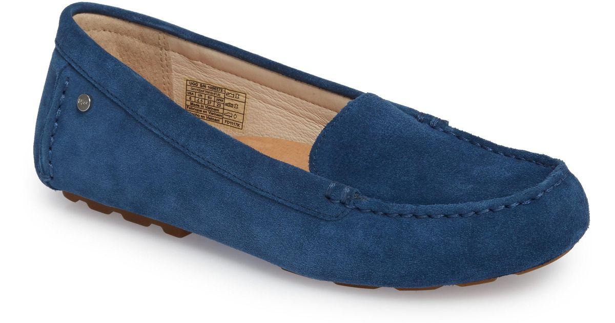 133a425bc2d Ugg - Blue Ugg Milana Loafer - Lyst