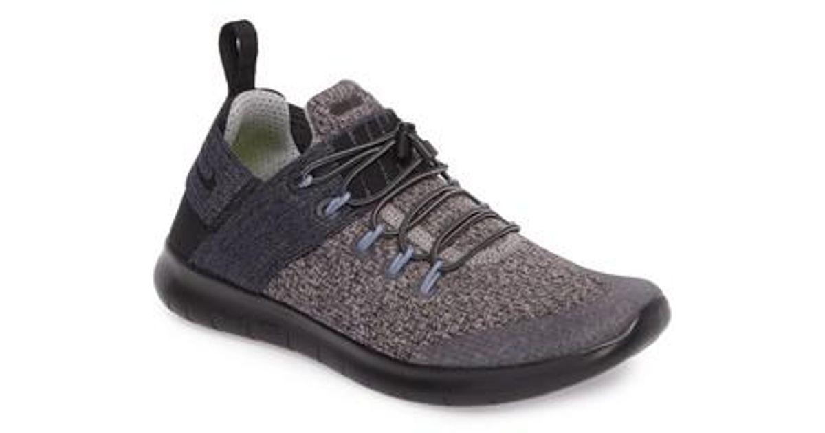 0255b6702a38a Lyst - Nike Free Rn Commuter 2017 Premium Running Shoe in Black