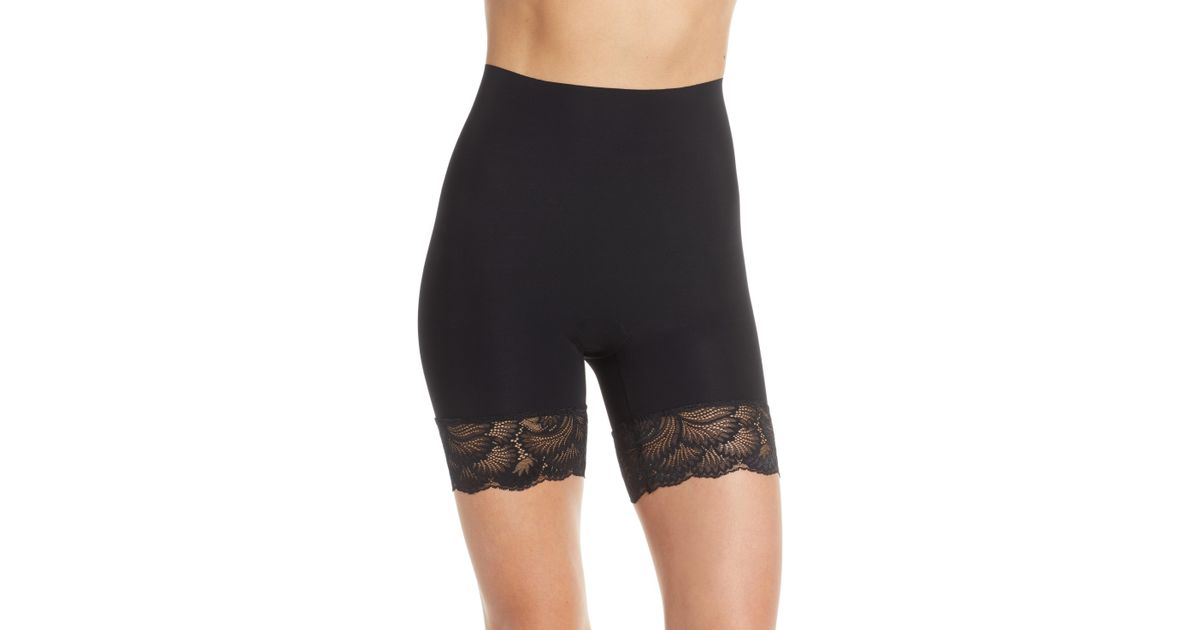 1363ed9d4dc Lyst - Commando Sexy + Smooth Shorts in Black