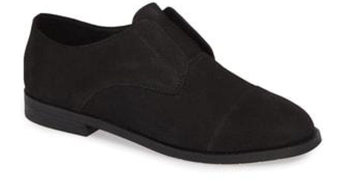 3318133a5e34 Lyst - Eileen Fisher Frida Slip-on Derby in Black
