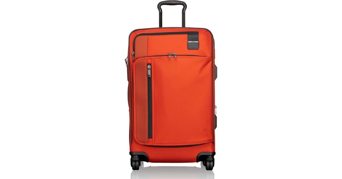 68f2672c24 Lyst - Tumi Merge - Short Trip Expandable Rolling Suitcase in Red for Men