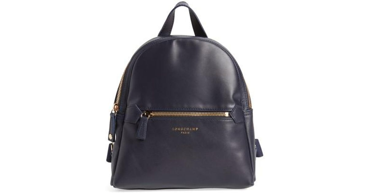 2f0bbb0cd63 Lyst - Longchamp 2.0 Small Leather Backpack in Blue