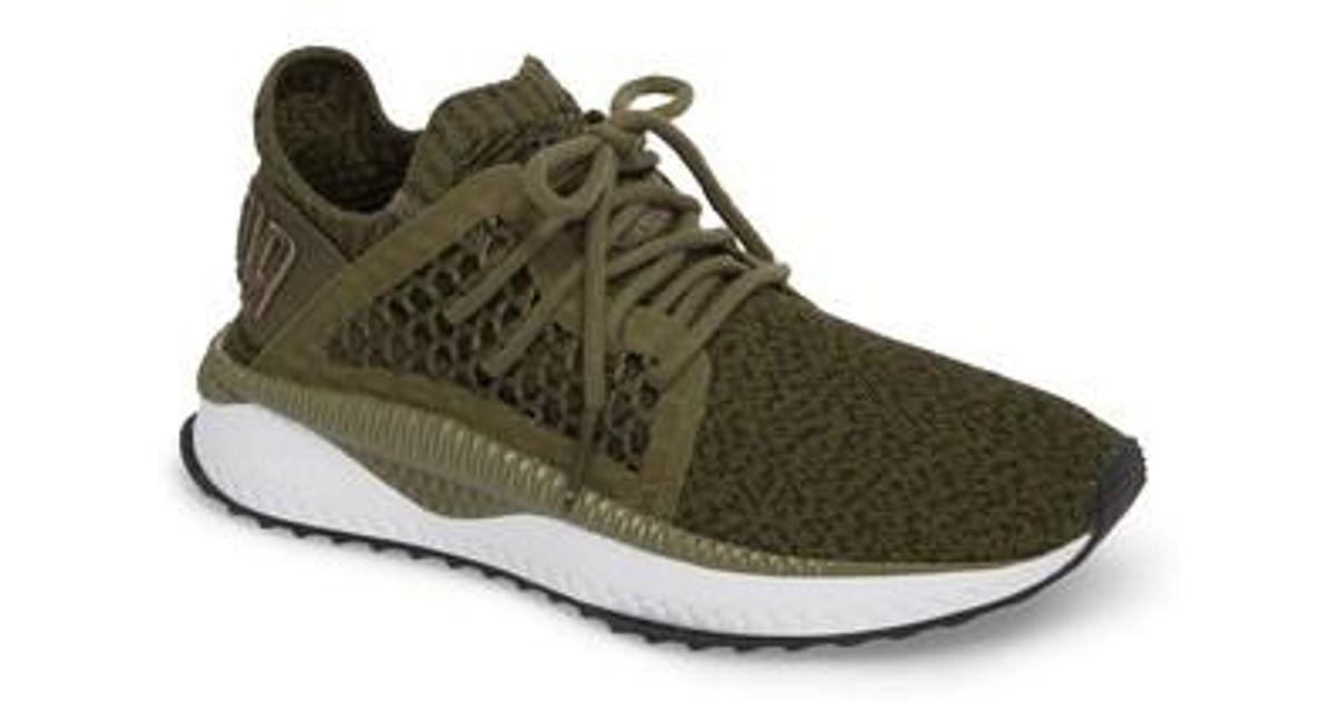 e03872dcd PUMA Tsugi Netfit Evoknit Training Shoe in Green for Men - Lyst