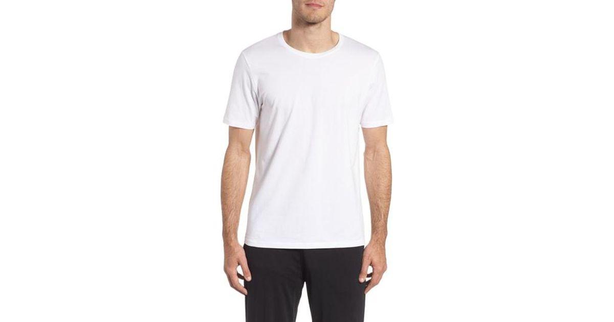 b72720d95c0675 Lyst - Tommy John Second Skin Crewneck T-shirt in White for Men