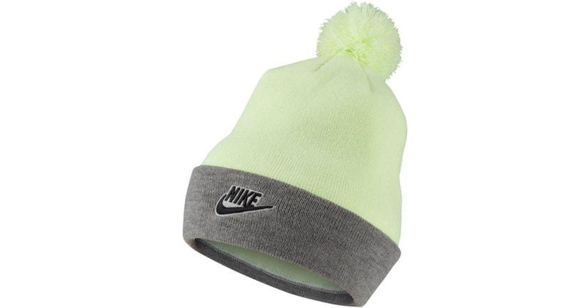 8ac458765 Lyst - Nike Sportswear Women s Beanie in Green