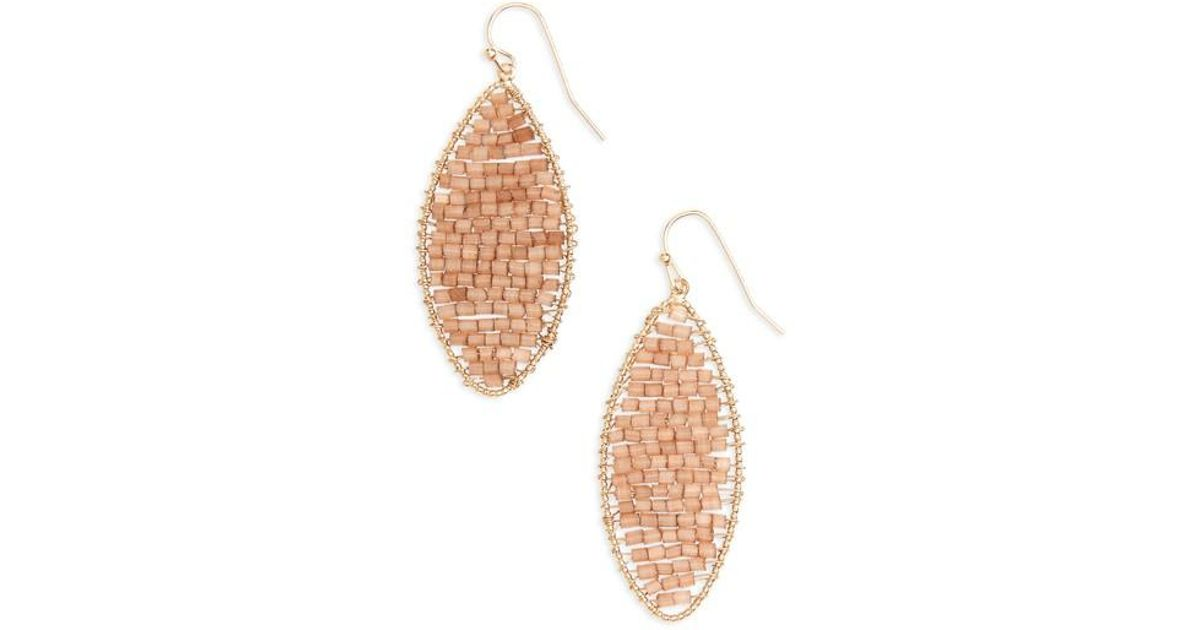 Panacea Double Marquise Drop Earrings qCIkpzaKfB