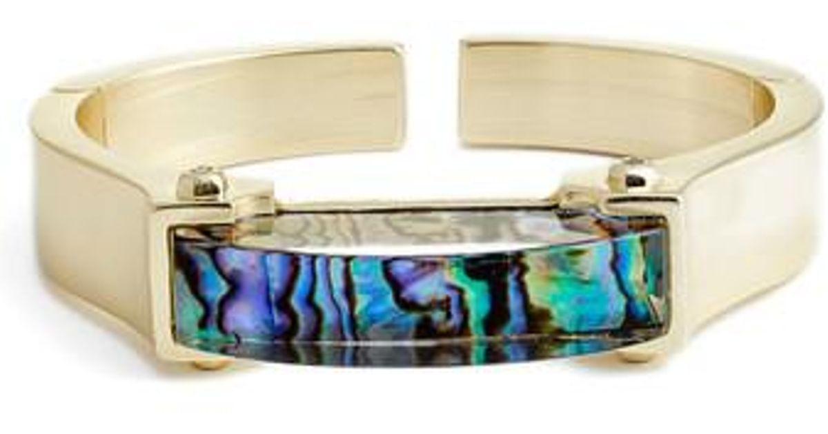 Lyst Kendra Scott Kailey Cuff Bracelet in Metallic