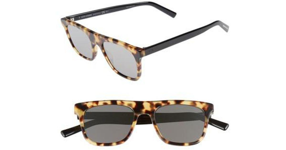 036e7592d1f Lyst - Dior Homme Walk 51mm Sunglasses - Havana Black  Grey in Gray