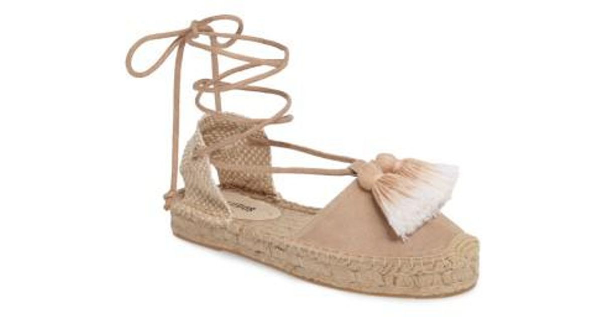 7e4005ff3 Soludos Tassel Lace-up Espadrille - Lyst