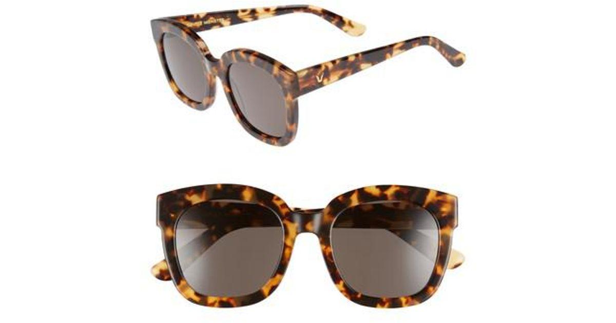 35fe9cd5c841 Lyst - Gentle Monster Matti 51mm Rounded Sunglasses - Khaki in Brown