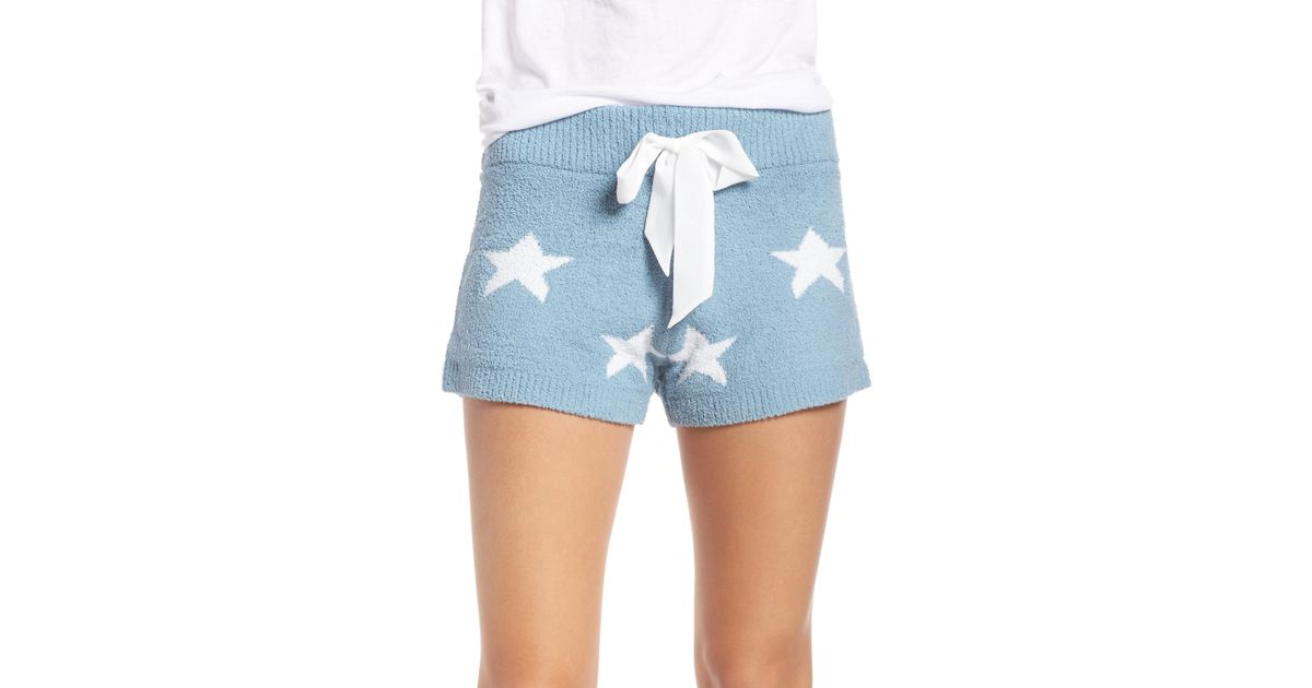 c3ce159271d90 Lyst - Honeydew Intimates Snow Angel Shorts in Blue - Save 67%