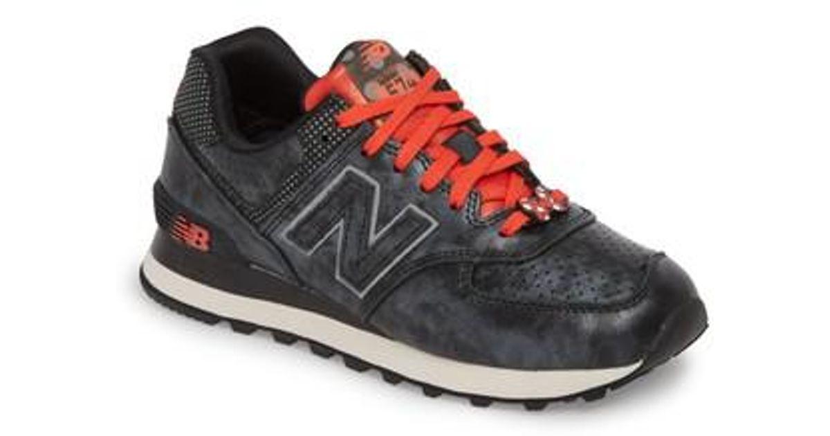 Lyst - New Balance X Disney 574 Sneaker in Red 2105d200e